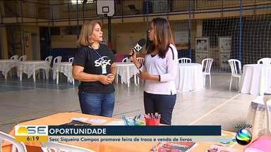 Sesc Siqueira Campos promove feira de troca e venda de livros - Feiras podem ser oportunidade para a compra dos materiais.