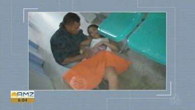 Mulher dá à luz no chão de maternidade e família relata negligência médica - Caso ocorreu em uma maternidade na Zona Leste de Manaus.