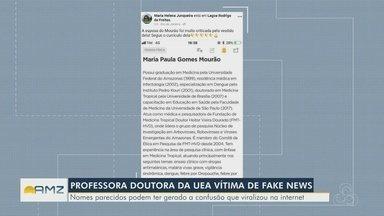 Professora da UEA tem currículo divulgado como esposa de vice-presidente - Nomes parecidos podem ter gerado a confusão que viralizou na internet