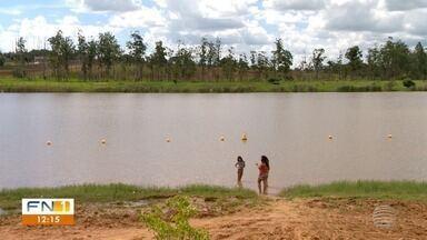 Cetesb vai analisar amostras de água do Balneário da Amizade - Prefeitura de Presidente Prudente recomenda que banhistas não utilizem o local.