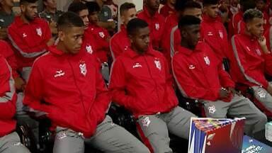 Grupo 25 da Copinha começa a ser disputado nesta sexta-feira, em Mogi - Chave conta com o o Santos, além de São Caetano, Sergipe e do anfitrião União Mogi.