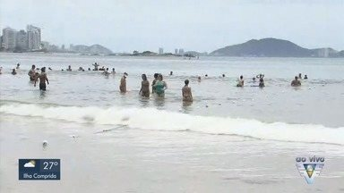 Banhistas devem tomar precauções ao ir à praia - Oficial do corpo de bombeiros explica os cuidados que banhistas devem tomar com os banhos de mar.