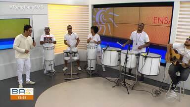 Denny Dennan é o convidado do Bahia Meio Dia desta sexta-feira (4) - Confira a passagem do cantor no programa e as novidades para o verão 2019.