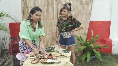 No 'Expresso da Moda', Adriana Priore ensina a montar mesas de jantar inspiradas no verão - No 'Expresso da Moda', Adriana Priore ensina a montar mesas de jantar inspiradas no verão