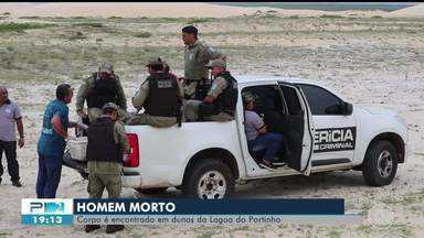 Homem é encontrado morto entre as dunas da Lagoa do Portinho, no litoral do Piauí - Homem é encontrado morto entre as dunas da Lagoa do Portinho, no litoral do Piauí