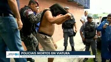 Tenente é suspeito de matar dois policiais militares em Manaus: 'Estava transtornado', diz - Alcoolizado, oficial é suspeito de ter disparado tiros contra companheiros dentro de carro, após sair de uma casa de festas.