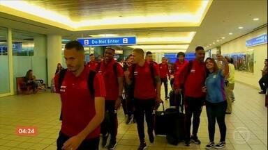 Flamengo desembarca em Orlando para participar da Flórida Cup - Flamengo desembarca em Orlando para participar da Flórida Cup.