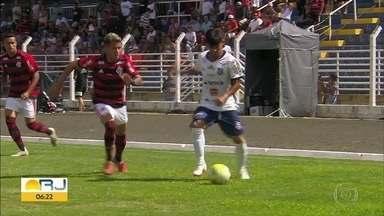 Flamengo perde para o Trindade na Copinha - Pela segunda rodada da Copa São Paulo de futebol Juniors, o trindade venceu o flamengo por um a zero. com o resultado, o Trindade se tornou o líder do grupo e o Rubro-Negro carioca ficou em segundo.