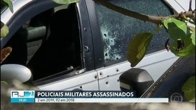 Rio já tem dois PMs mortos no início de 2019 - Daniel Henrique Mariotti e Miquéias Marinho Ribeiro, ambos com 30 anos, morreram num intervalo de menos de 48 horas. O primeiro foi morto ao tentar evitar um assalto e o outro quando chegava em casa em Japeri, na Baixada Fluminense.