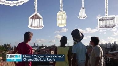 Filme 'Guerreiros da rua' estreia no Recife com atuação de crianças da periferia - Estreia foi no Cinema São Luiz, no Centro da cidade.