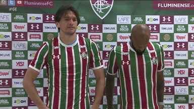 86d628c24c660 3 min. Globo Esporte RJ. Fluminense apresenta ...
