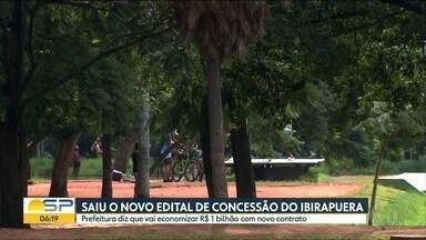 Novo edital de concessão do Ibirapuera foi divulgado - Prefeitura diz que vai economizar R$ 1 bilhão com novo contrato