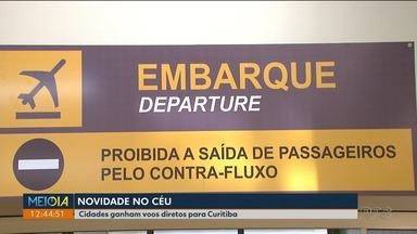 Toledo e Pato Branco ganham voos diretos para Curitiba - Os voos começam a operar nesta semana.