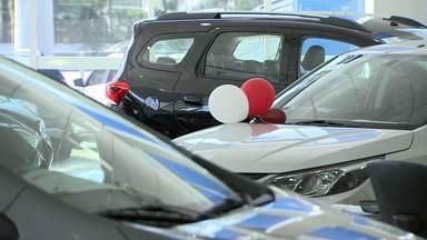 Venda de carros 0 Km aumentou na região - Ao mesmo tempo caiu o interesse pelos carros usados.
