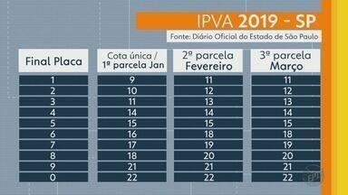 Prazo do IPVA começa a vencer nesta quarta-feira (9) - Confira quando você tem que pagar seu IPVA.