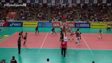 Curitiba Vôlei perde para o Osasco e cai uma posição na Superliga - Representante paranaense na elite do vôlei feminino enfrenta o Minas na próxima rodada