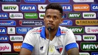 Fortaleza apresenta atacante Júnior Santos - Confira as novidades do Tricolor do Pici