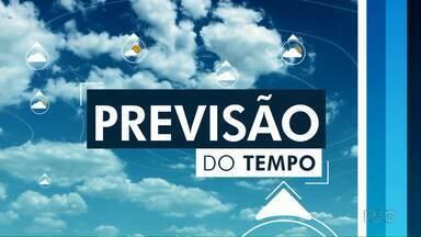 Previsão de chuva à tarde em Foz do Iguaçu e no sudoeste do estado nesta quinta - A chuva só deve ser forte em Foz. Em Francisco Beltrão e Pato Braco, chuva fraca e em pontos isolados.