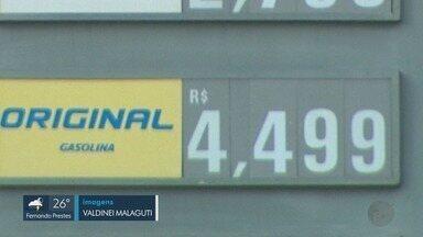Petrobras reduz preço da gasolina, mas preço continua alto nas bombas - Essa é a terceira redução desde o começo do ano. Consumidores perguntam sobre os descontos.