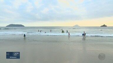 """""""EPTV na Praia"""" apresenta dicas direto de Juqueí, em São Sebastião, SP - Especial mostra as belezas do litoral paulista."""