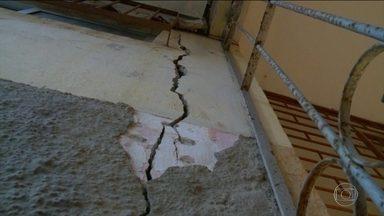 Serviço Geológico do Brasil tenta descobrir por que bairro de Maceió afunda - Mais de dois mil imóveis do Bairro do Pinheiro estão ameaçadas pelas rachaduras.