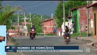 SSP divulga balanço de crimes violentos no Piauí - SSP divulga balanço de crimes violentos no Piauí