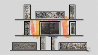 Arte: veja obras da exposição '30 anos de paixão: xilogravuras de Cláudia Sperb' - Assista ao vídeo.