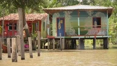 Curtas universitários: Street River - Documentário dirigido por Luana Esquerdo, mostra o trabalho de um grafiteiro e casas de palafitas no Pará.