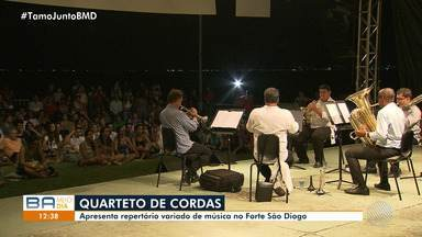 Osba apresenta concertos gratuitos no Forte São Diogo, em Salvador - Os show tem um repertório variado de música que encanta jovens e adultos.