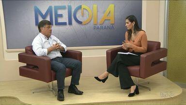 Prefeito de Umuarama fala sobre ações do mandato e projeta próximos anos - Celso Pozzobom, do PSC, foi o terceiro prefeito entrevistado pelo Meio Dia Paraná que encerra essa rodada de entrevistas com os prefeitos.