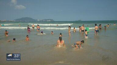 EPTV na Praia mostra as belezas de Praia Grande - Confira dicas e informações da Praia do Boqueirão.