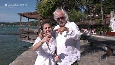 Mario José Paz e Klara Castanho têm 'Reencontro Marcado' - Atores viveram Maradona e Rafaela na novela 'Viver a Vida', há 10 anos