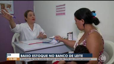 Doações de leite materno caem 70% em Teresina - Doações de leite materno caem 70% em Teresina