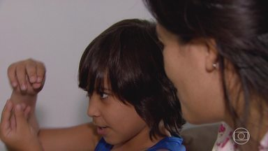 Garoto deixa a Venezuela em busca de sonho em Belo Horizonte - Garoto deixa a Venezuela em busca de sonho em Belo Horizonte