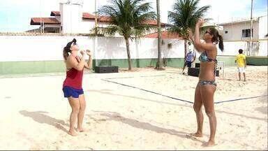 Rebecca e Ana Patrícia vivem boa fase no vôlei de praia - Confira com Lucas Catrib