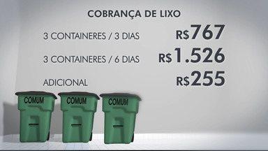 Comerciantes que produzem excesso de lixo orgânico vão pagar taxa mais cara em São José - Decisão da prefeitura tem gerado críticas.