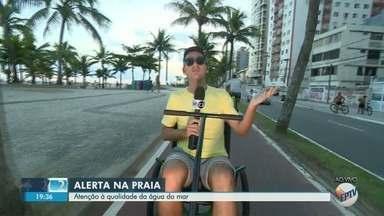 'EPTV na Praia' apresenta as prais impróprias para banho no litoral paulista - Equipe da EPTV passeia pela Praia Grande na reportagem desta sexta-feira (11).