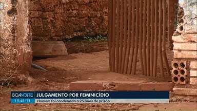 Homem é condenado a 25 anos de prisão por feminicídio em Cascavel - Essa é a primeira condenação do ano pelo crime na cidade. Homem matou a companheira a facadas e feriu a enteada com uma foice em agosto de 2018.