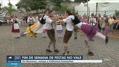 Sommerfest começa nesta sexta (11) em Blumenau - Sommerfest começa nesta sexta (11) em Blumenau
