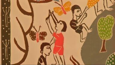 Veja a exposição de xilogravuras do artista J. Borges - Confira mais notícias em g1.com.br/ce