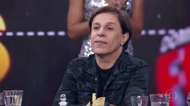 Tom Cavalcante relembra momentos marcantes no 'Domingão' - Humorista também revela algumas curiosidades sobre sua carreira