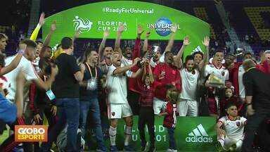 Torneio da Flórida - Flamengo vence o Eintracht Frankfurt e conquista o título. São Paulo perde para o Ajax e termina em último.