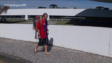 """Torcedor leva o Paraná Clube para os quatro cantos do mundo - """"Embaixador"""" do Tricolor pretende visitar todos os países do mundo"""