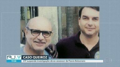 STF suspende investigação de Fabricio Queiroz - Pedido foi feito pelo senador eleito Flavio Bolsonaro. Procedimentos ficam suspensos até fim do recesso do judiciário.