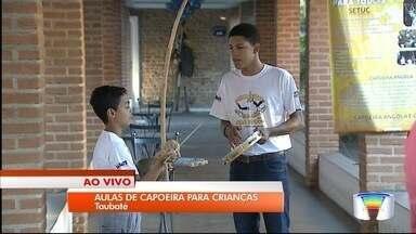 Taubaté está com mais de 150 vagas para capoeira para crianças - Aulas começam em 11 de fevereiro.