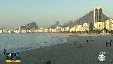 Veja a previsão do tempo para esta sexta-feira (18) no Rio - Será mais um dia de muito calor no Rio. A temperatura máxima pode chegar a 37ºC.