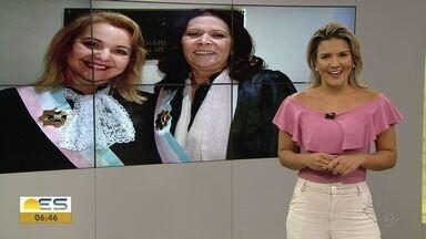 Pela primeira vez TRT-ES será comandado por duas mulheres - Presidente e vice-presidente tomaram posse nesta quinta-feira (17).