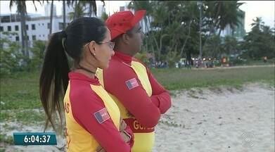 Oito pessoas são salvas de afogamento na primeira quinzena de janeiro, na PB - Dados são da equipe de busca e salvamento do Corpo de Bombeiros. Socorros são realizados por guarda-vidas.