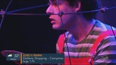 'Em Cena': veja as atrações do final de semana em Campinas e região - Confira dicas de shows, peças e programações musicais em Campinas (SP) e região e aproveite o final de semana!