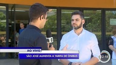 São José terá mais de uma tarifa de ônibus e preço aumenta para até R$ 4,90 - Valor reajustado da passagem começa a valer no dia 28 de janeiro.